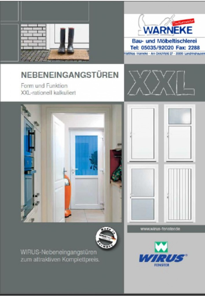 Download Akionsnebeneingangstürflyer Kunststoff